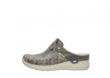 wolky pantoletten 06600 holland 49150 camouflage taupe leder_1