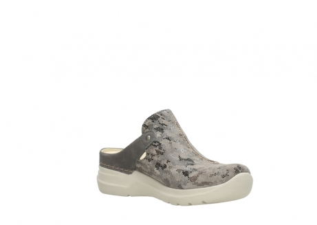 wolky pantoletten 06600 holland 49150 camouflage taupe leder_16