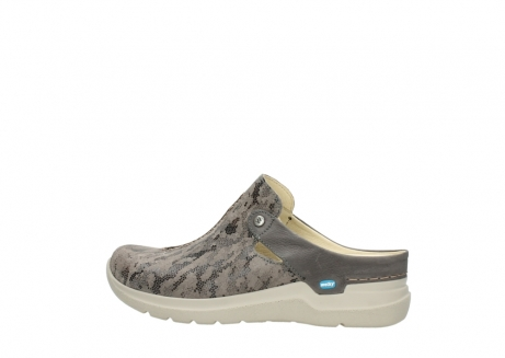 wolky pantoletten 06600 holland 49150 camouflage taupe leder_2