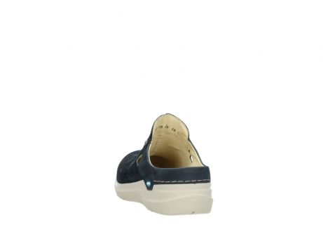 wolky slippers 06600 holland 71870 blauw leer_6