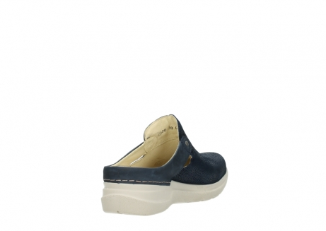 wolky slippers 06600 holland 71870 blauw leer_9