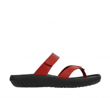 wolky slippers 0880 tahiti 350 rood leer