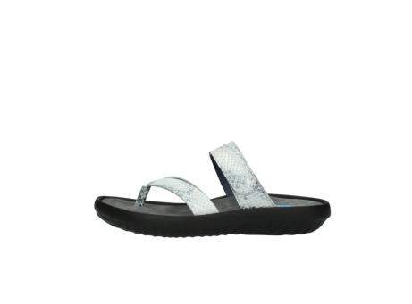 wolky slippers 0880 tahiti 912 gebroken wit cobra leer_1