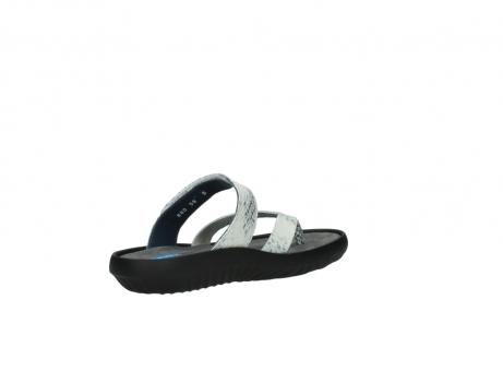 wolky slippers 0880 tahiti 912 gebroken wit cobra leer_10