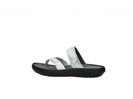 wolky slippers 0880 tahiti 912 gebroken wit cobra leer_2