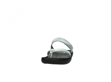 wolky slippers 0880 tahiti 912 gebroken wit cobra leer_20