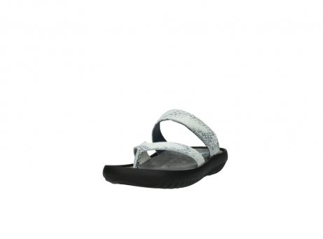 wolky slippers 0880 tahiti 912 gebroken wit cobra leer_21
