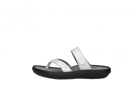 wolky slippers 0880 tahiti 919 parelwit metallic leer_1