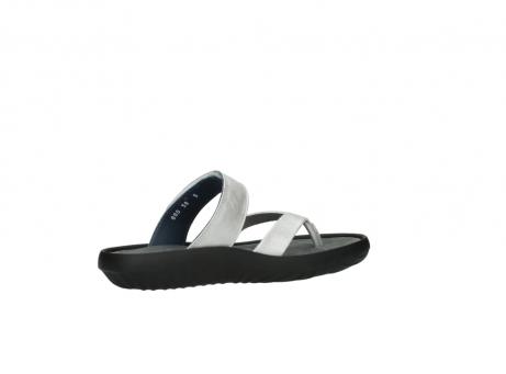 wolky slippers 0880 tahiti 919 parelwit metallic leer_11