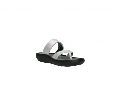 wolky slippers 0880 tahiti 919 parelwit metallic leer_16