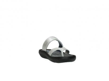 wolky slippers 0880 tahiti 919 parelwit metallic leer_17