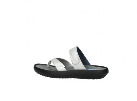 wolky slippers 0880 tahiti 919 parelwit metallic leer_2