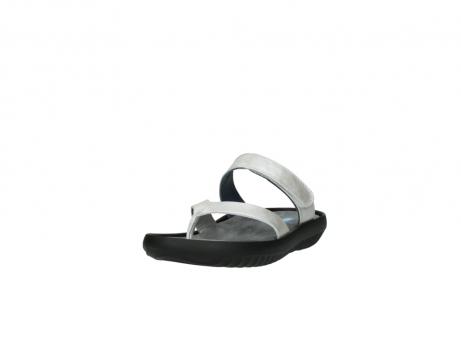 wolky slippers 0880 tahiti 919 parelwit metallic leer_21