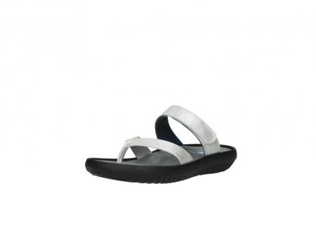 wolky slippers 0880 tahiti 919 parelwit metallic leer_22
