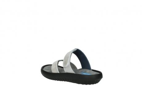 wolky slippers 0880 tahiti 919 parelwit metallic leer_4