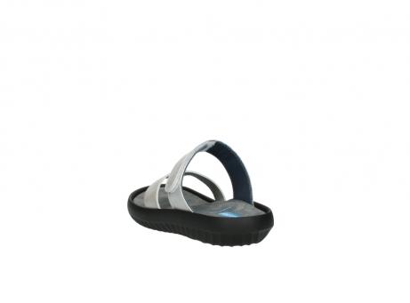 wolky slippers 0880 tahiti 919 parelwit metallic leer_5