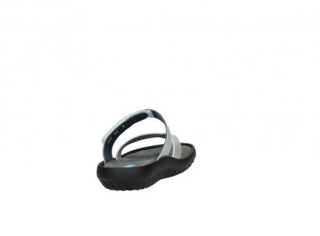 wolky slippers 0880 tahiti 919 parelwit metallic leer_8