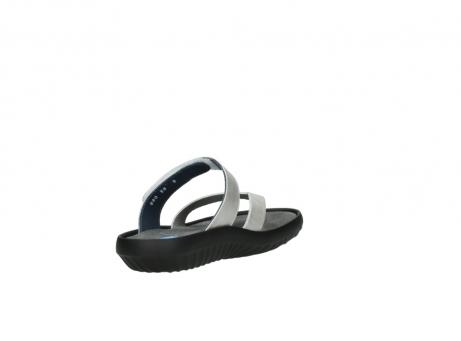 wolky slippers 0880 tahiti 919 parelwit metallic leer_9