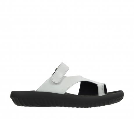 wolky slippers 0881 fiji 310 wit leer