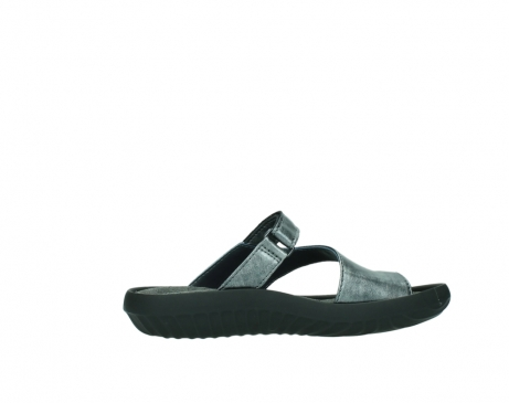 wolky slippers 0881 fiji 928 grijs metallic leer_12