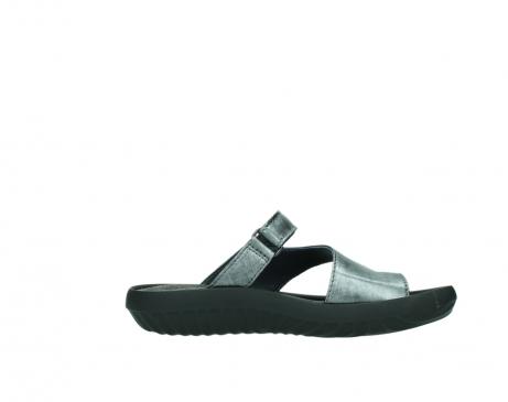 wolky slippers 0881 fiji 928 grijs metallic leer_13