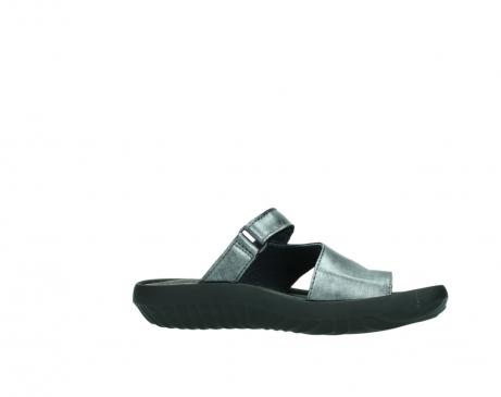 wolky slippers 0881 fiji 928 grijs metallic leer_14