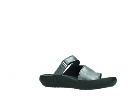wolky slippers 0881 fiji 928 grijs metallic leer_15