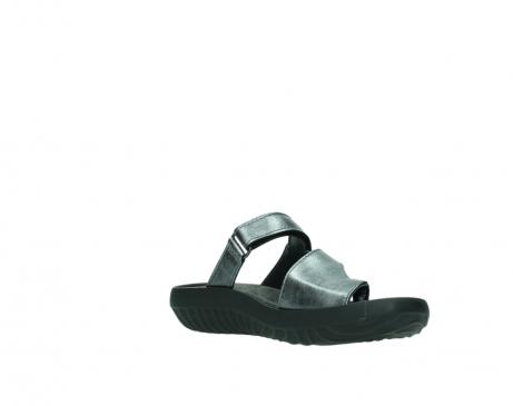 wolky slippers 0881 fiji 928 grijs metallic leer_16