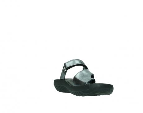 wolky slippers 0881 fiji 928 grijs metallic leer_17