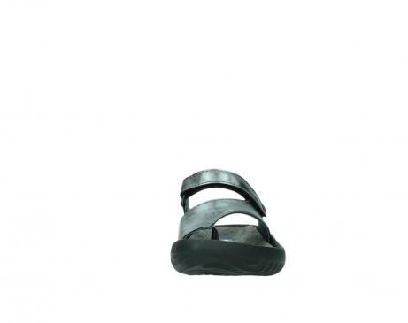 wolky slippers 0881 fiji 928 grijs metallic leer_19