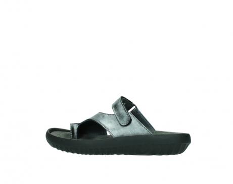 wolky slippers 0881 fiji 928 grijs metallic leer_2