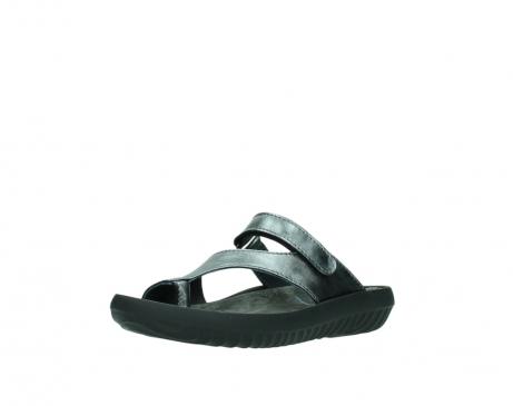 wolky slippers 0881 fiji 928 grijs metallic leer_22