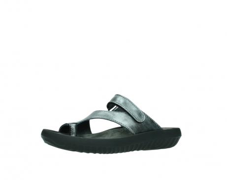 wolky slippers 0881 fiji 928 grijs metallic leer_23