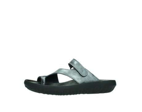 wolky slippers 0881 fiji 928 grijs metallic leer_24