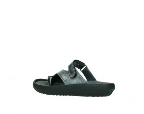 wolky slippers 0881 fiji 928 grijs metallic leer_3