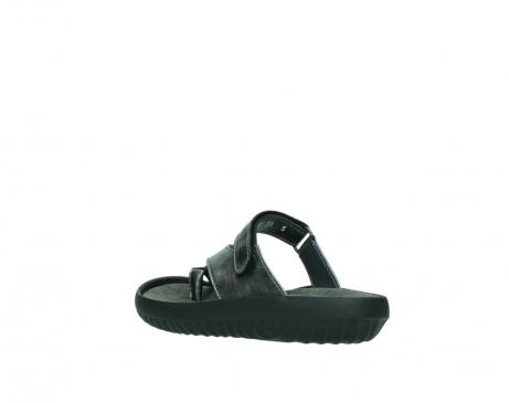 wolky slippers 0881 fiji 928 grijs metallic leer_4