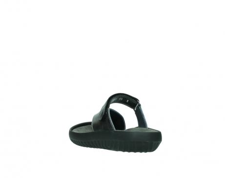 wolky slippers 0881 fiji 928 grijs metallic leer_5