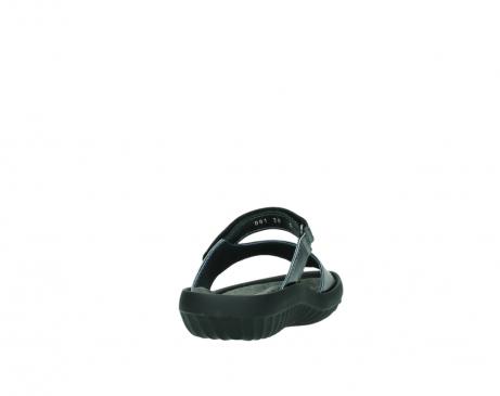 wolky slippers 0881 fiji 928 grijs metallic leer_8