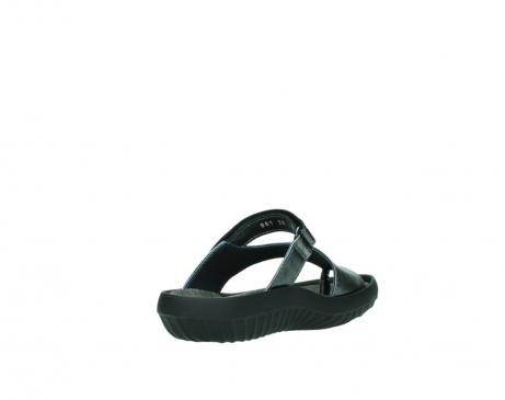 wolky slippers 0881 fiji 928 grijs metallic leer_9