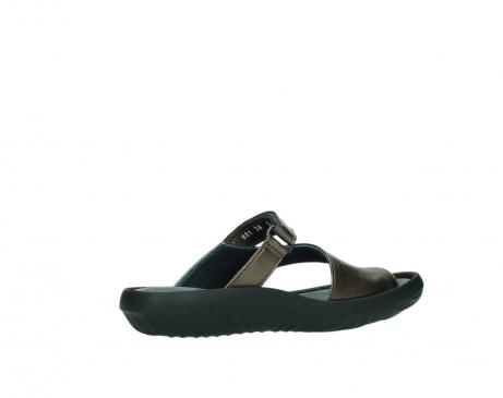 wolky slippers 0881 fiji 933 koper metallic leer_11
