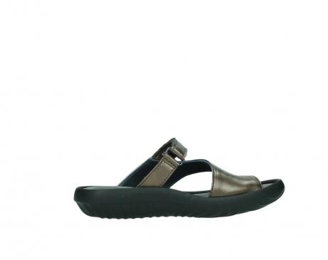 wolky slippers 0881 fiji 933 koper metallic leer_12