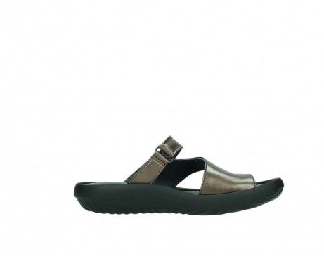 wolky slippers 0881 fiji 933 koper metallic leer_13
