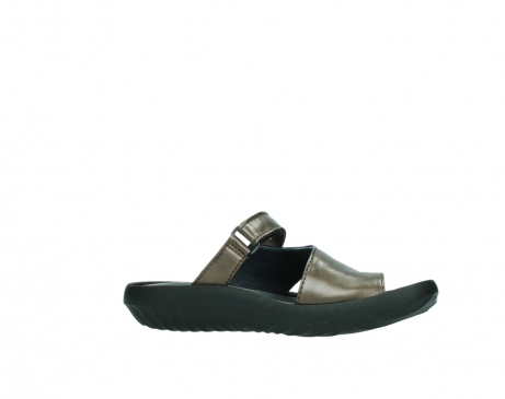 wolky slippers 0881 fiji 933 koper metallic leer_14