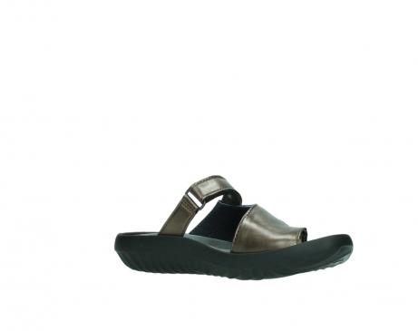wolky slippers 0881 fiji 933 koper metallic leer_15