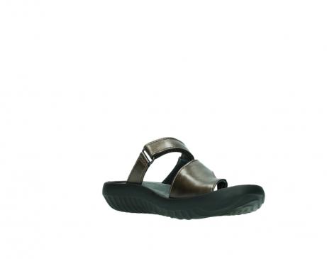 wolky slippers 0881 fiji 933 koper metallic leer_16