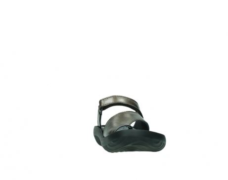 wolky slippers 0881 fiji 933 koper metallic leer_18
