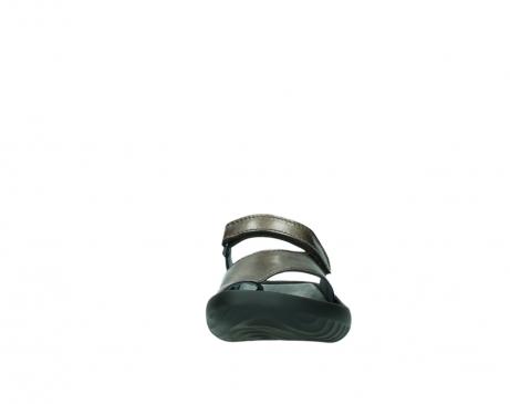 wolky slippers 0881 fiji 933 koper metallic leer_19