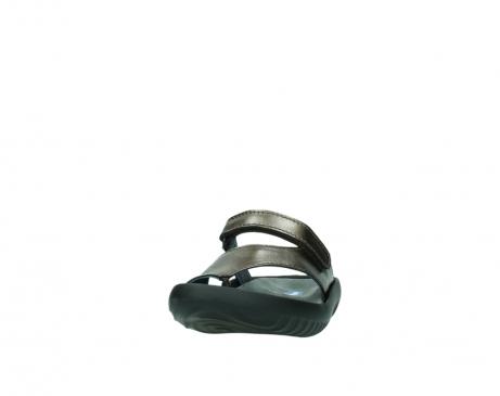 wolky slippers 0881 fiji 933 koper metallic leer_20
