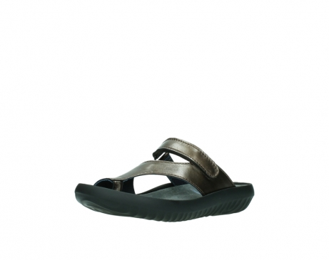 wolky slippers 0881 fiji 933 koper metallic leer_22