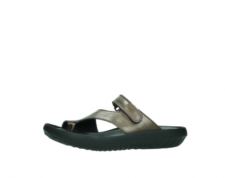 wolky slippers 0881 fiji 933 koper metallic leer_24